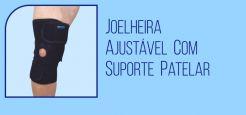 Joelheira Ajustável com Suporte Patelar