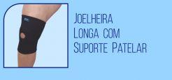 Joelheira Longa com Suporte Patelar