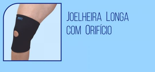 Joelheira Longa com Orifício