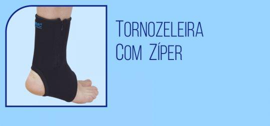 Tornozeleira com Zíper